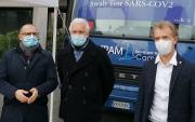 Contram per il sociale: un autobus per i tamponi a Macerata