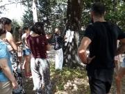"""Giochi ed emozioni ai giardini di San Severino Marche col laboratorio """"il gioco del mondo"""""""