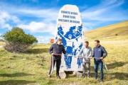 Omaggio all'Aquila di Filottrano: Sarnano dedica una stele in marmo a Michele Scarponi