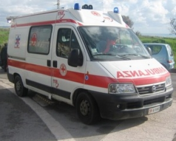 Incidente per un ciclista a Caccamo