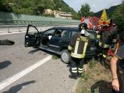 Due incidenti in superstrada, 5 bambini coinvolti