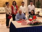 Siglato l'accordo per il gemellaggio tra i Licei di Camerino e la scuola cinese di Taicang