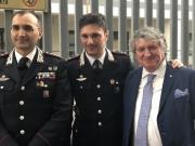 Compagnia di Tolentino: il tenente Masciarelli cede il comando