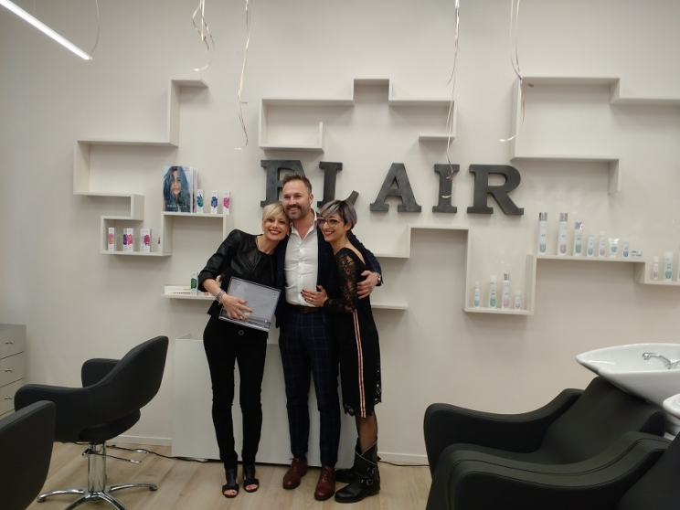 Camerino- Flair Hair Stylist riscrive la sua storia