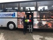 Contram: anche Caldarola ha il suo autobus